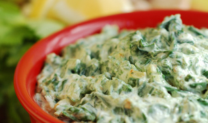 Cold Spinach Artichoke Dip