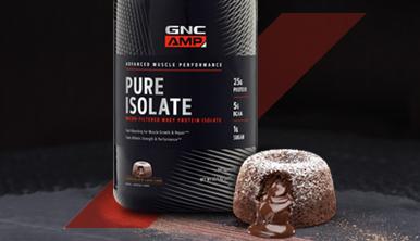 Chocolate Lava Protein Cake