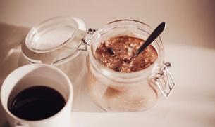 Café Latte Overnight Oats