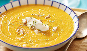 Protein Pumpkin Soup with Whey Protein