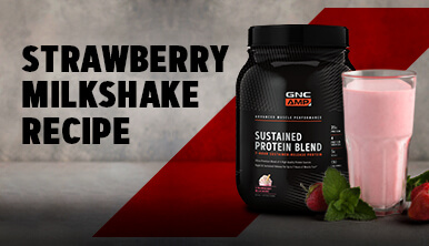 Strawberry Protein Milkshake