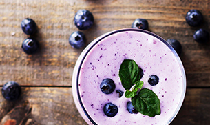 Triple Berry Superfoods Supreme Smoothie