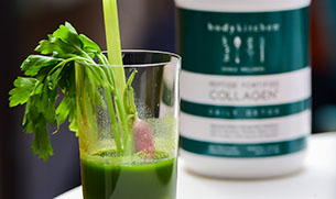 Daily Detox Collagen Get Up & Go Green Juice Smoothie