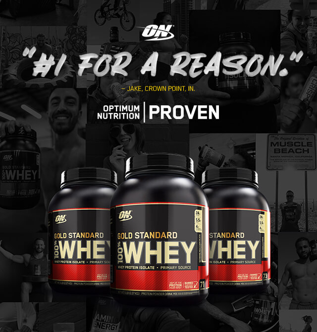 Learn More About Gold Standard Whey