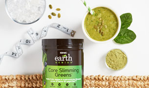 Slimming Greens + Vegan Protein Smoothie