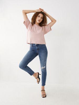 TrueReligion Jennie High Rise Curvy Skinny Jean